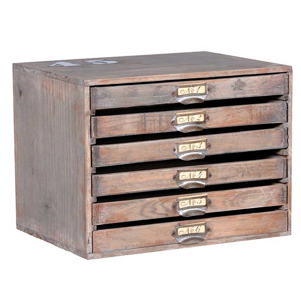 Mini Wood Envelope Drawers Hydes Interiors