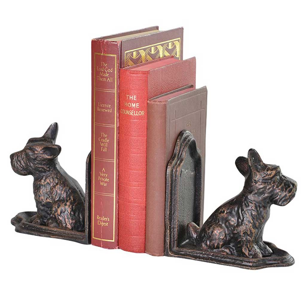 Scottie dog bookends Hydes Interiors : Scottie dog bookends from hydesfurniture.com size 1024 x 1024 jpeg 72kB