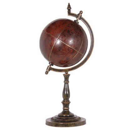 Antique stand globe