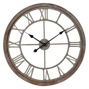 Cut out wall round clock