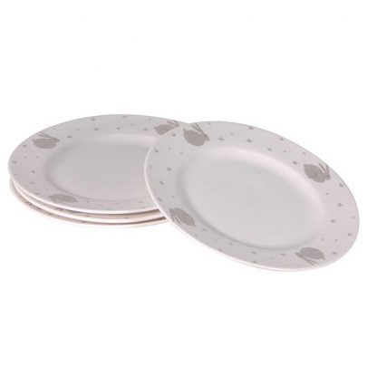 Set of bunny side plates