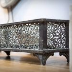Voltive distressed candle trough