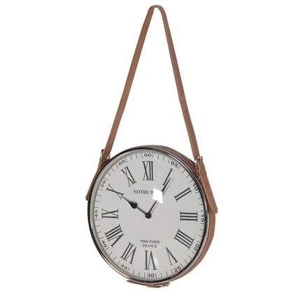 Notre Dame hanging wall clock