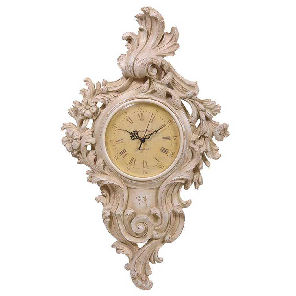 Ornate Wall Clock Handmade Kitchens In Norwich Norfolk