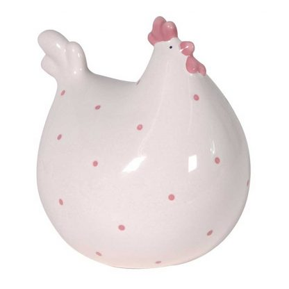 Fat spotted hen ornament
