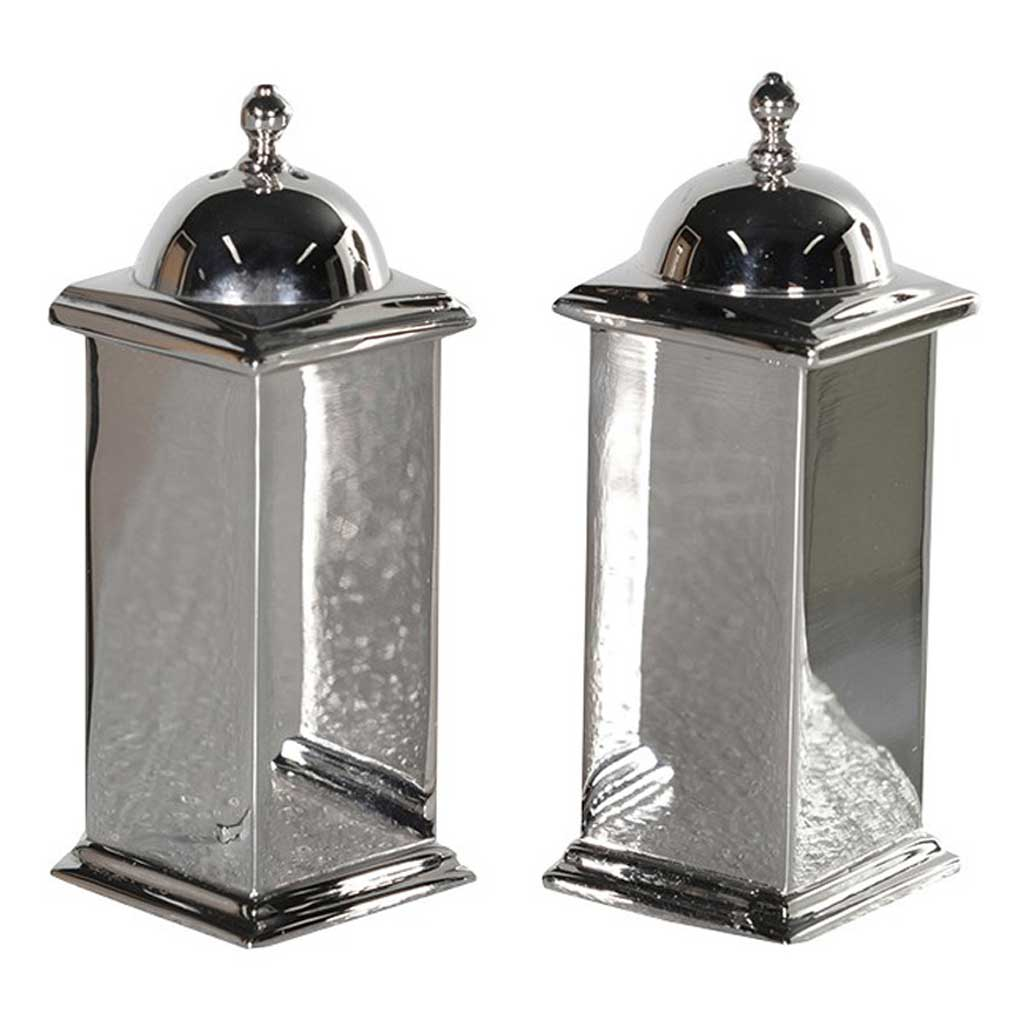 Nickel salt & pepper set