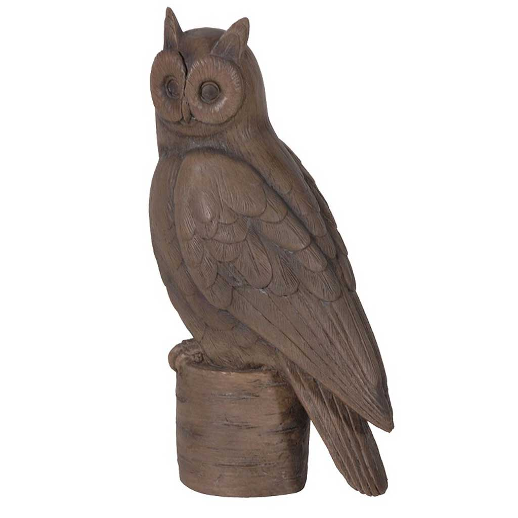 Owl on a stand