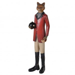 """Tally-ho"" dressed fox"