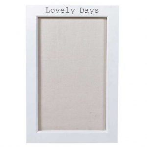 Lovely days pin board