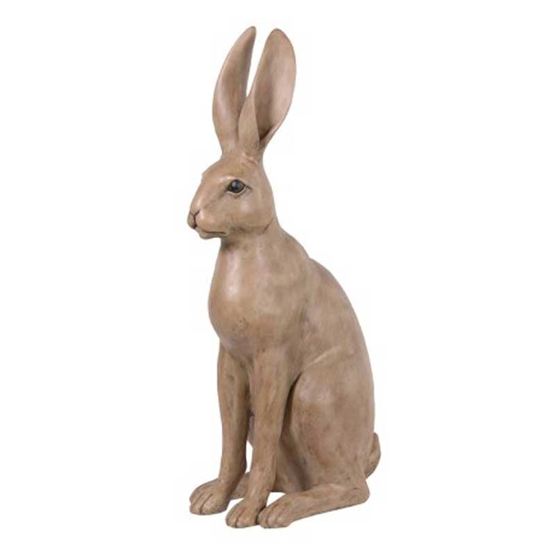 Sitting hare ornament