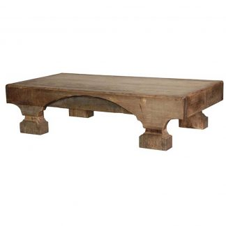 Chuncky rustic pine coffee table