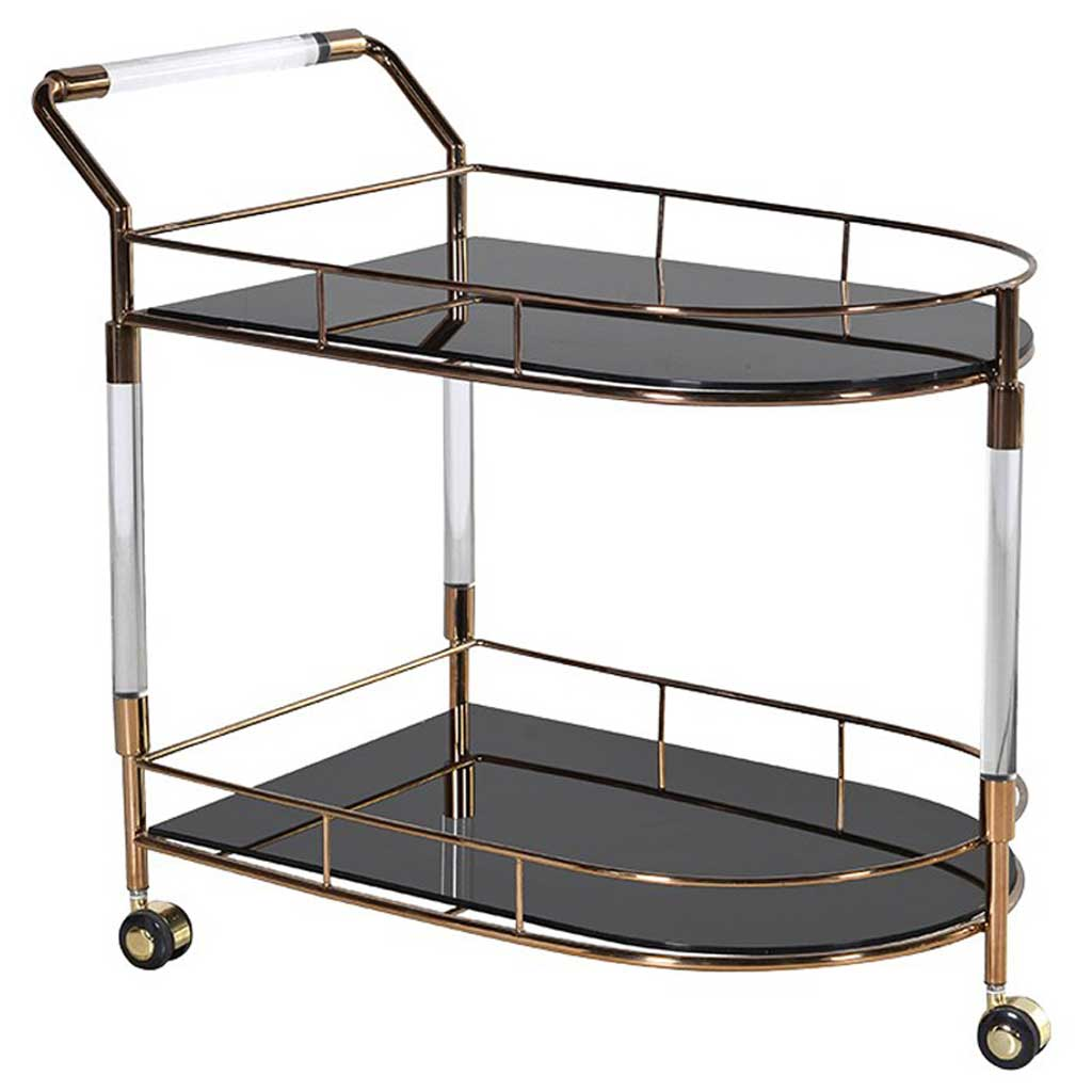 Modern serving trolley