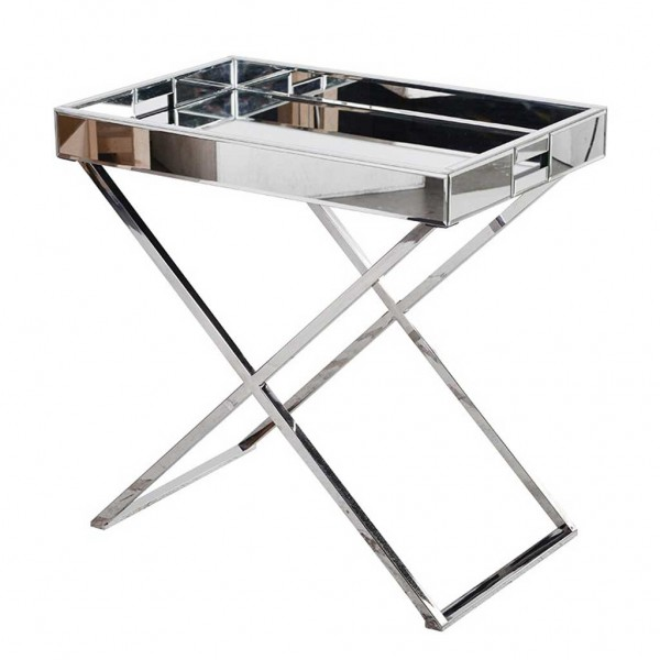 Mirrored Tray Trolley Handmade Kitchens In Norwich