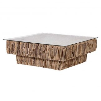 2 Tier Driftwood Coffee Table