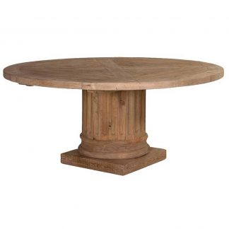 Column round table