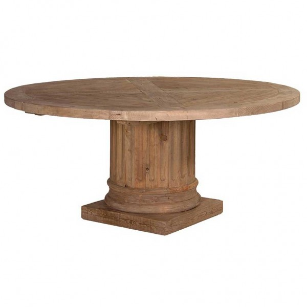 home furniture dining tables column round table