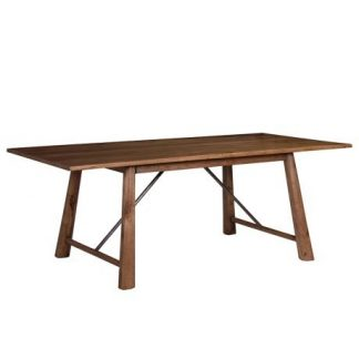 Authentic oak dining table