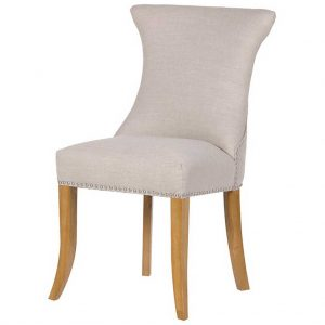 Ivory ring dining chair