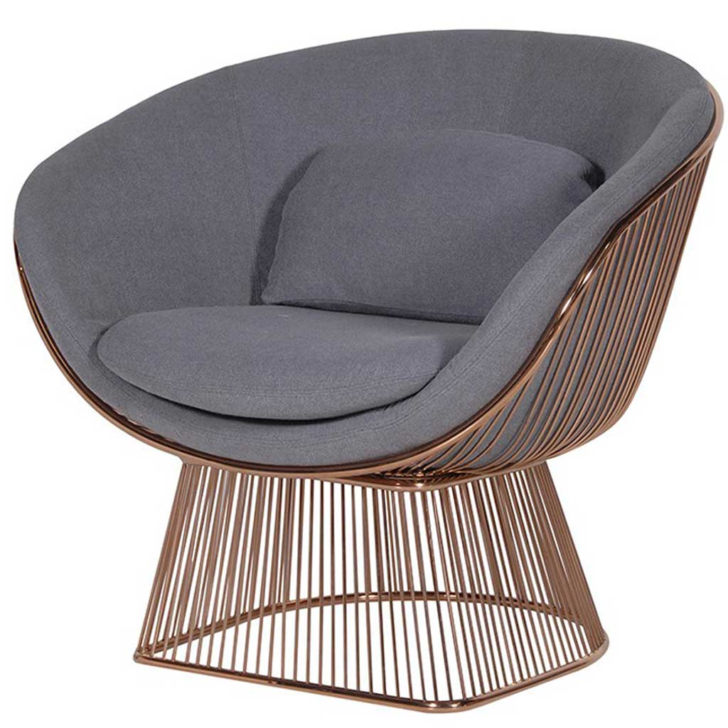 Grey relaxing chair