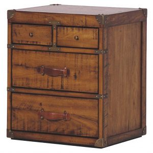Huntingdon 4 draw bedside table