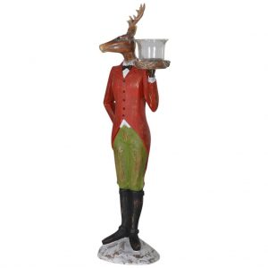 Deer waiter T-light holder