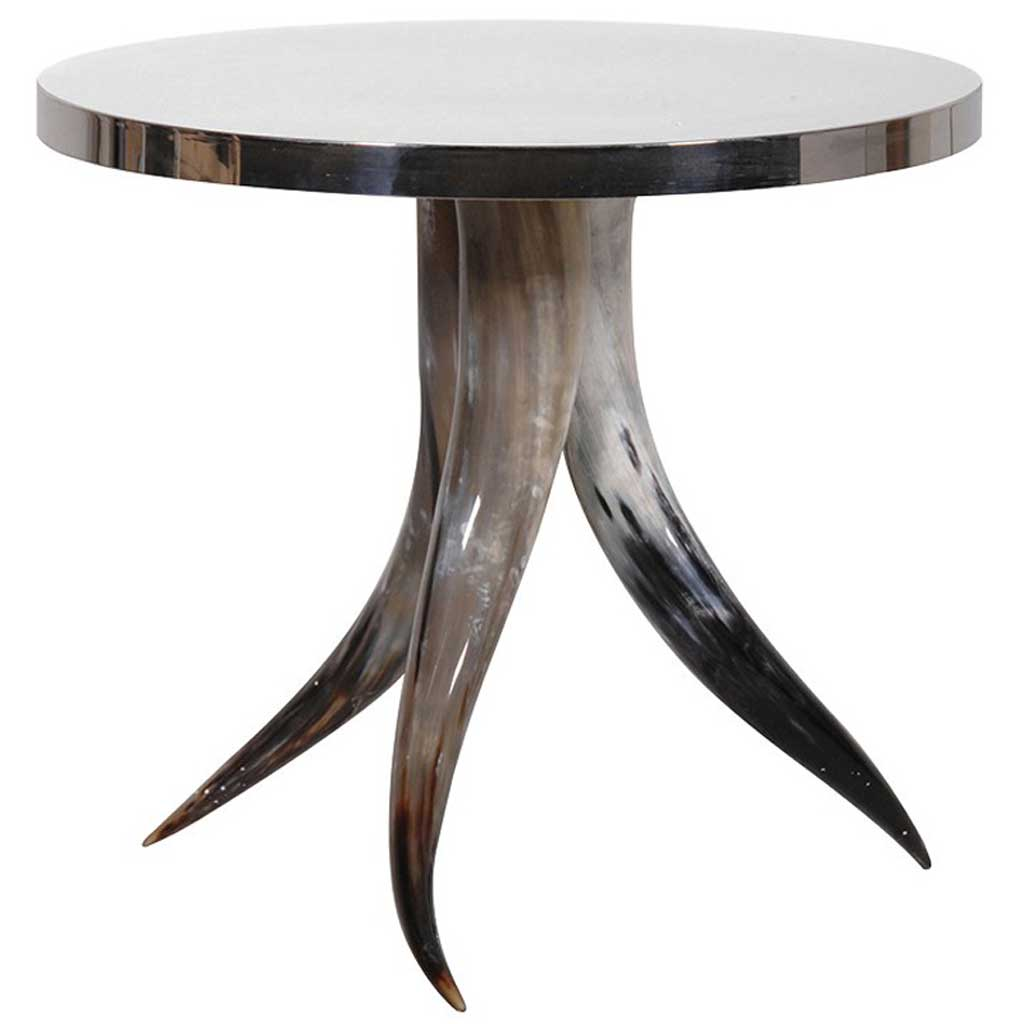 Round horn table