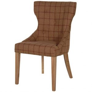 Check dining chair