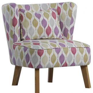 Blush Marle Tub Retro chair