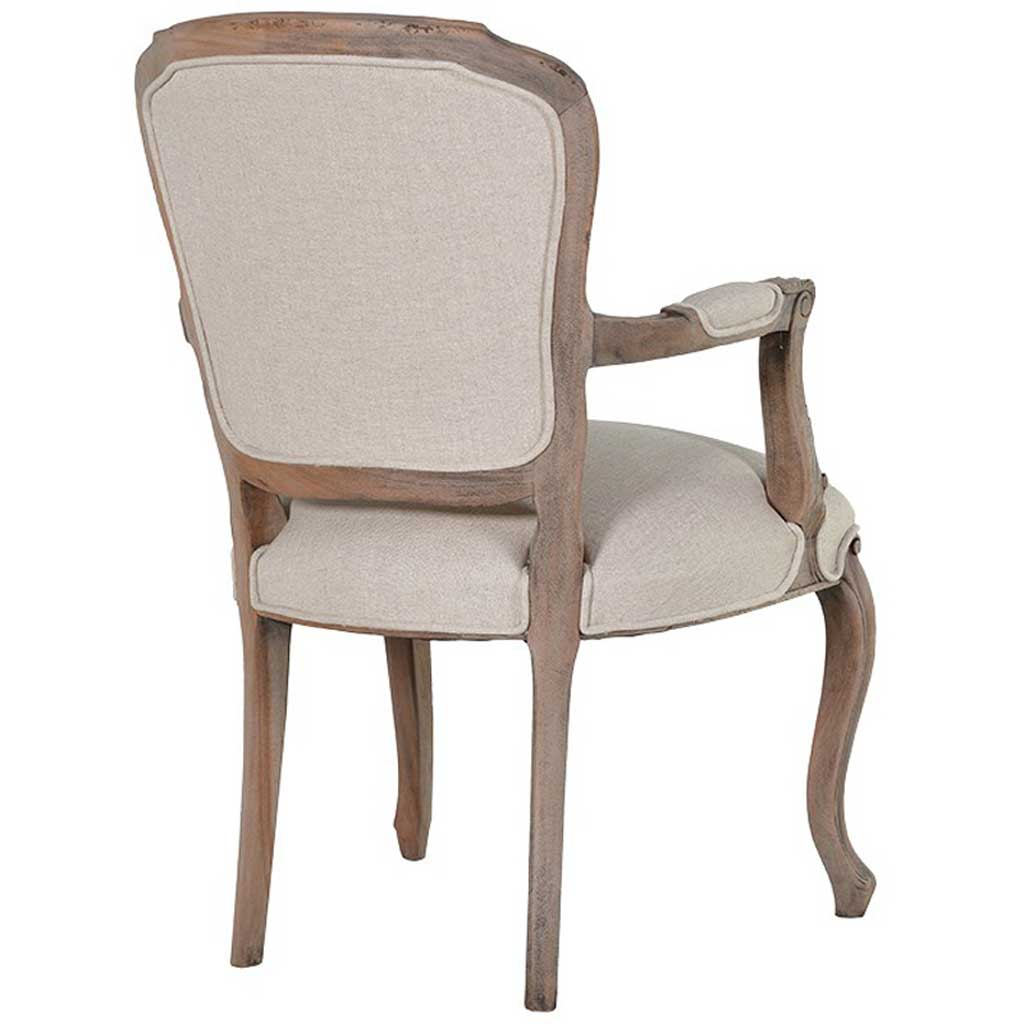 Colonial pine wing chair back