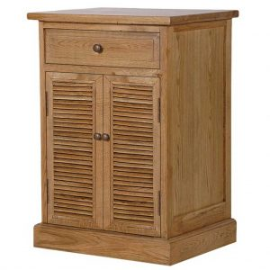 Middleton oak bedside table