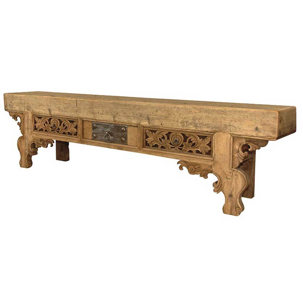 Carved dresser table