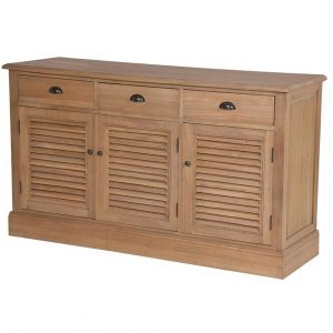 Weathered oak sideboard