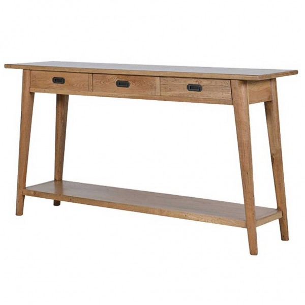 retro hall table. Retro Oak Hall Table I