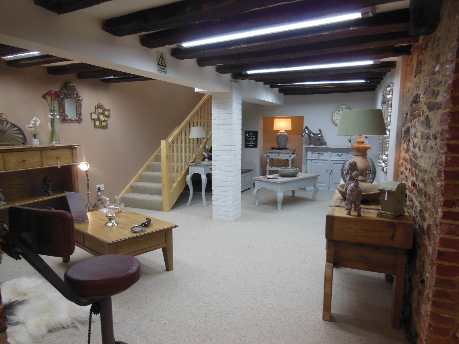 Hydes basement showroom now open