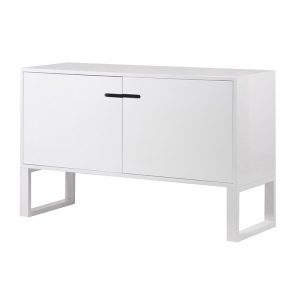 White high gloss sideboard