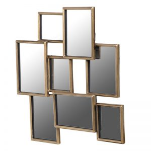 Abstract rectangles mirror