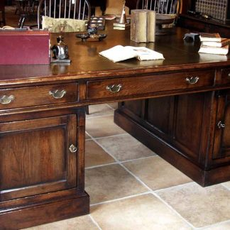 Traditional Oak Desk