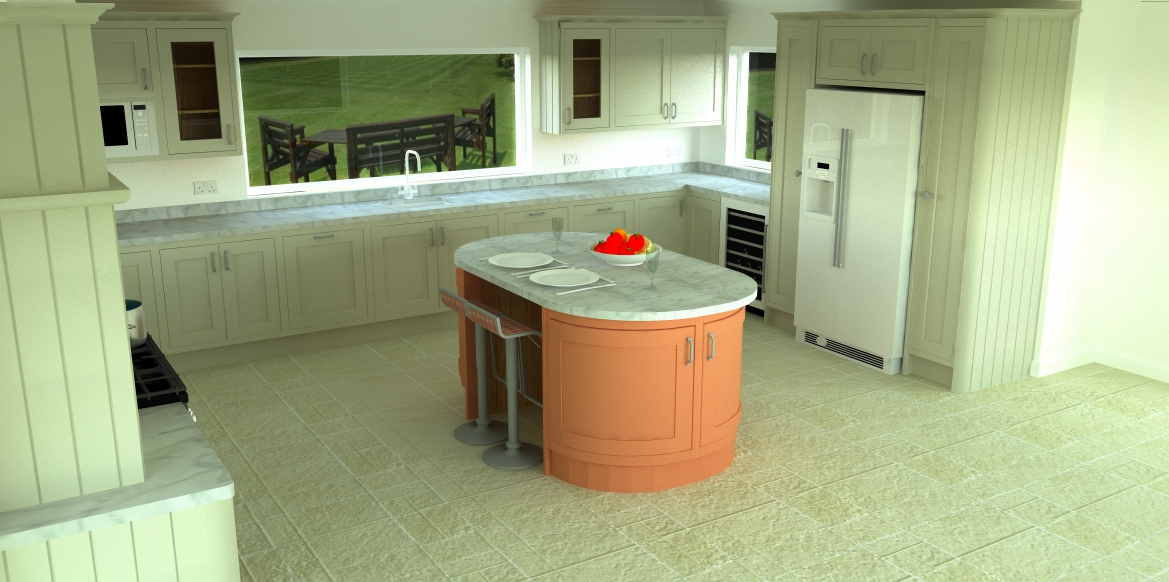 Cad Design Kitchen